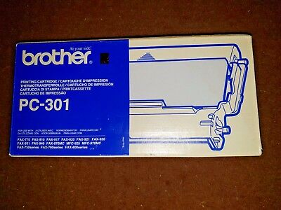 4 x Brother PC-301 Printing Cartridge, Brother Ink Cartridge