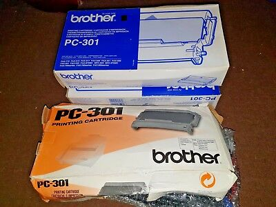 3 x Brother PC-301 Printing Cartridge, Brother Ink Cartridge