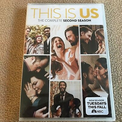 New And Sealed This is Us: The Complete Second Season 2 (DVD, 2018, 5-Disc Set)