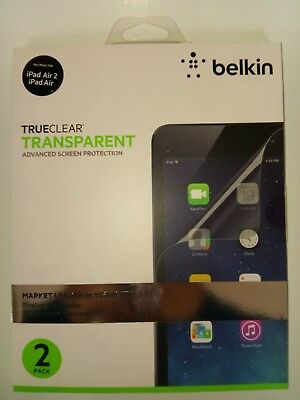 Belkin Trueclear Transparent Advance Screen Protector For IPad Air 2 And Air ...