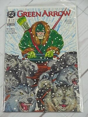 Green Arrow #8 (1988) Bagged and Boarded- C480