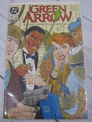Green Arrow #6 (1988)  Bagged and Boarded - C478