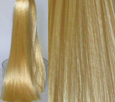 GOLDEN BLONDE Saran Doll Hair for Doll Rerooting/Wig Making Monster High OOAK