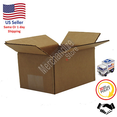 100 6x4x4 Corrugated Cardboard Shipping Mailing Packing Moving Boxes /Box Carton
