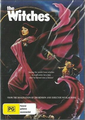 The Witches - Jim Henson - Anjelica Huston - New & Sealed Dvd Free Local Post