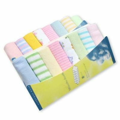 Baby Towels 8pcs/pack Cotton Newborn Saliva Bibs Nursing Boys Girls Handkerchief
