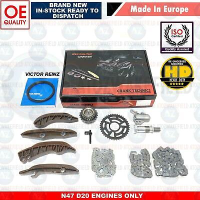 For Bmw 520D 525D 520 525 F10 F11 Upper Lower Diesel Engine Timing Chain Kit B