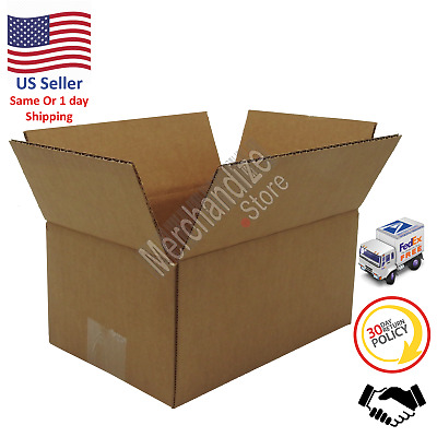 100 9x6x4 Corrugated Cardboard Shipping Mailing Packing Moving Boxes /Box Carton
