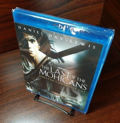 The Last of the Mohicans (Blu-ray Disc,1992)NEW-Free First Class S&H with Track
