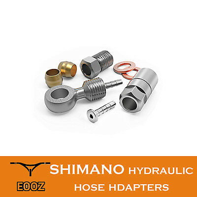 Hydraulic Hose Adapters For Shimano BH90 BH59 Olive Connecter Insert BENJO set