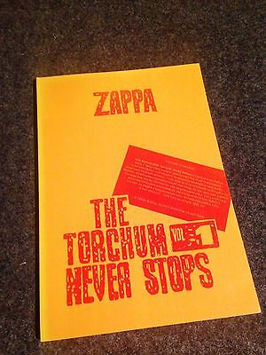 Frank Zappa: The Torchum Never Stops Vol.1 Buch