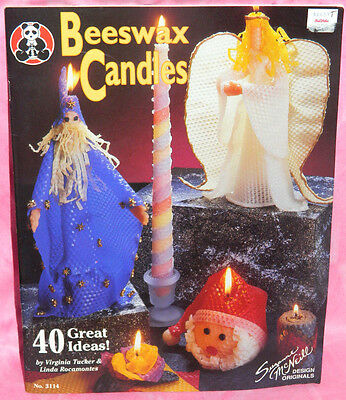 Design Originals Beeswax Candles Pattern Instruction Book 40 Great Ideas