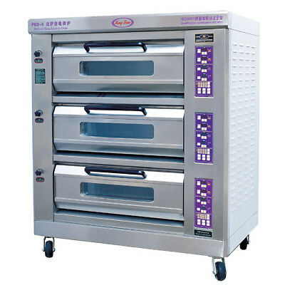 Peo 6 Commercial Electric Pizza Oven 3 tier