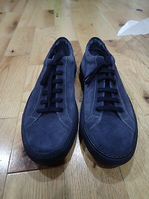 ef0a05ec0359 COMMON PROJECTS ACHILLES Low Size 46 In Navy Suede New In Box ...