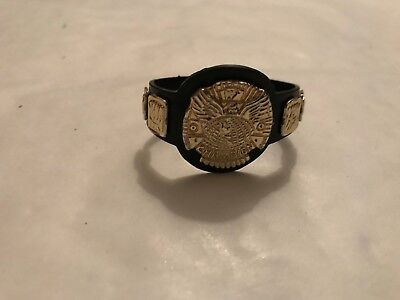 Wwe Wwf Winged Eagle Championship Title Belts Jakks Wrestling Figure Accessory