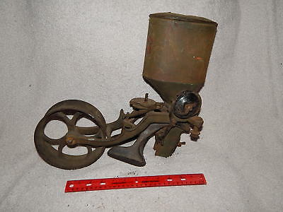 RARE VINTAGE IRON AGE CORN PLANTER ANTIQUE Agriculutural Industrial Decor