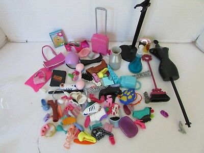 Barbie Doll Accessories Shoes Bags And More See Pic