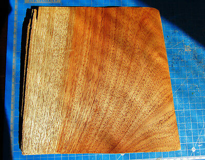 Mahogany wood veneer sheets, African Mahogany, 6 sheets, 0.75mm