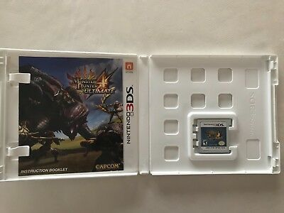 Monster Hunter 4 Ultimate (Nintendo 3DS, 2015) - Excellent Condition
