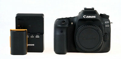 Canon EOS 80D 24.2 MP Digital SLR Camera Body