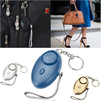 Safety Key Chain Alarm  Personal Protection Self Defense Device Security Alarm