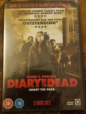 Diary Of The Dead (DVD, 2008, 2-Disc Set)