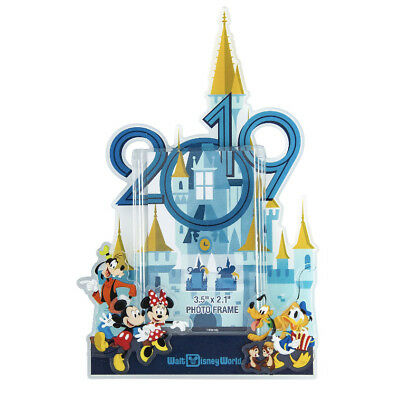 Walt Disney World 2019 Mickey and Friends Magnet Photo Frame with Stand NEW