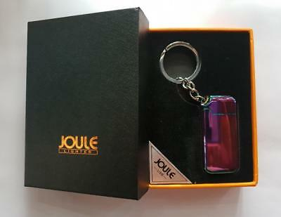 Key Chain USB Rechargeable Electric Pulse Cigarette Lighter Windproof Flameless