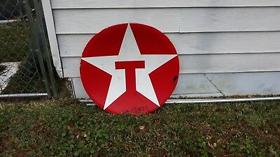 Plastic Texaco sign cap selling as is needs cleaning