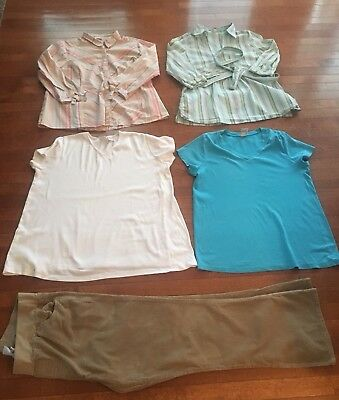 Old Navy Motherhood Maternity Lot- Sz Large. 4 Outfits In 1!!