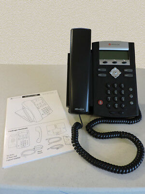 Polycom SoundPoint IP 335 PoE 2200-12375-025, VoIP Phone, New In Box