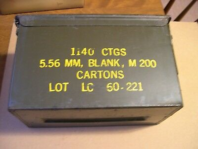 50 CAL AMMO CAN Steel USGI Military Surplus, Very Good Condition