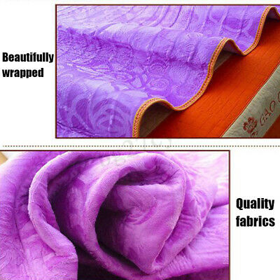 Electric Bedding Heated Flannel Blanket Controll Timing Winter Heater Double