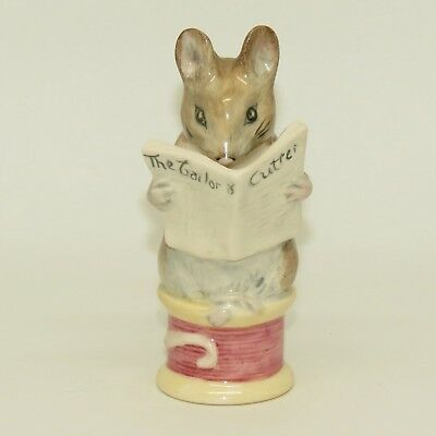 ROYAL ALBERT BEATRIX POTTER figure TAILOR OF GLOUCESTER BP6a c.1989 - 1998