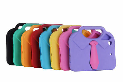 For iPad Mini 2 3 4 Air Kids Shockproof Carton Cloth Protective Case Cover LN