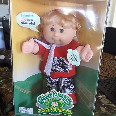 Cabbage patch doll ,Mattel,happy sounds kid 1995