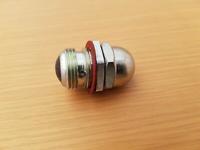 71-3447S Triumph Oil Pressure Relief Valve. Stainless Steel T120 T140 Quality.
