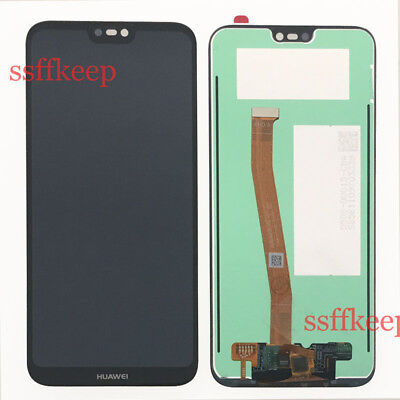 Black Huawei P20 Lite Touch screen Digitizer LCD Display Assembly Replacement