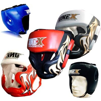Black Good Headgear Head Guard Training Helmet Kick Boxing Protection Gear U p7x