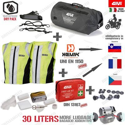 Tasche GIVI UT801 Ringe SAFETY Set HI-VIS POLARIS 850 Sportsman MV 2012-2013