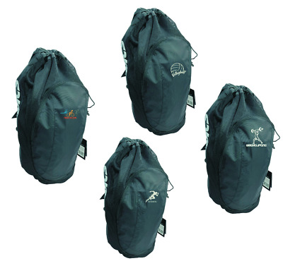 5b20bce49ae9 Asics Gear Bag Backpack Sport Training ZR307 Black with SPORT Embroidery