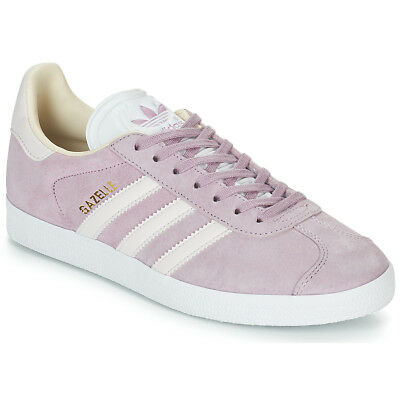 low priced 8007e 2ead0 Sneakers Scarpe donna adidas GAZELLE W Rosa Rosa Cuoio 12117665