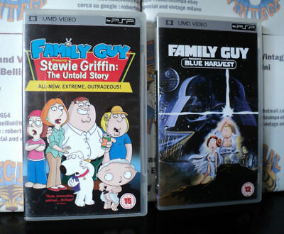 Family Guy - I Griffin - Star Wars And Stewie Griffin Set Of 2 Umd Psp Movies
