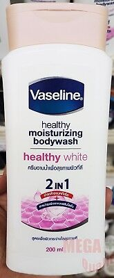 Vaseline Healthy body wash gel skin lightening Anti Bacteria Vitamin B3 200 ml.