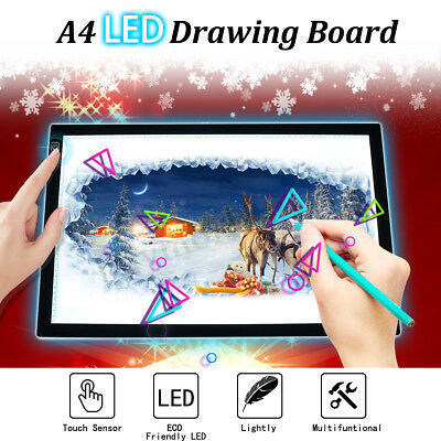 A2 LED Tracing Light Box Stencil Drawing Board Pattern Students Christmas Gift