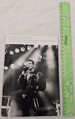 DEPECHE MODE booklet Black Celebration Photography by Andre Csillag 1986