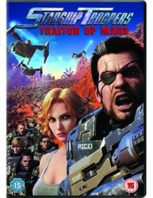 Starship Troopers Traitor Of Mars (UK IMPORT) DVD NEW