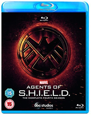 Marvels Agents Of Shield S4 (UK IMPORT) Blu-Ray NEW