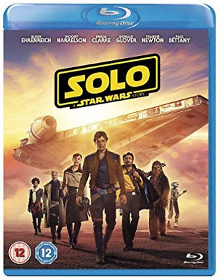 Solo: A Star Wars Story (UK IMPORT) BLU-RAY NEW