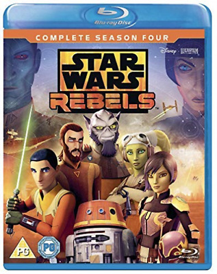 Star Wars Rebels Season 4 (UK IMPORT) BLU-RAY NEW